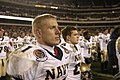 US Navy 031206-N-6157F-002 Midshipman Craig Candeto stands on the sidelines after the 104th playing of the Army Navy game.jpg