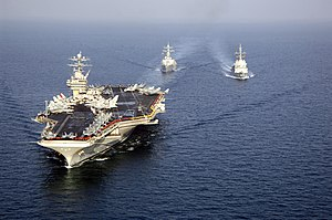 Carrier Strike Group 2 - TR in the Persian Gulf (3 December 2005)