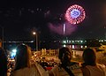 US Navy 100807-N-2218S-256 Visitors at Fleet Activities Yokosuka watch the fireworks finale during the 34th Friendship Day celebration.jpg