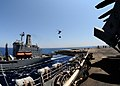 US Navy 110711-N-EC658-002 USS Bataan (LHD 5) transits alongside USNS Big Horn (T-AO 198) during a replenishment at sea.jpg
