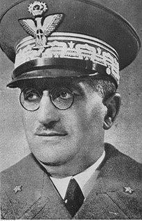 Ugo Cavallero Italian general