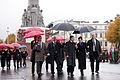 Ungārijas parlamenta priekšsēdētāja oficiālā vizīte Latvijā (8122258143).jpg