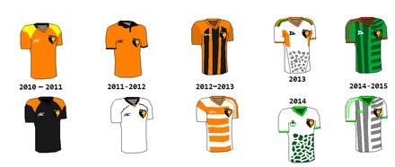 Estos son los uniformes utilizados por los