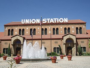 Union Station (Ogden, Utah) - Station building, reconstructed in 1924 after the fire
