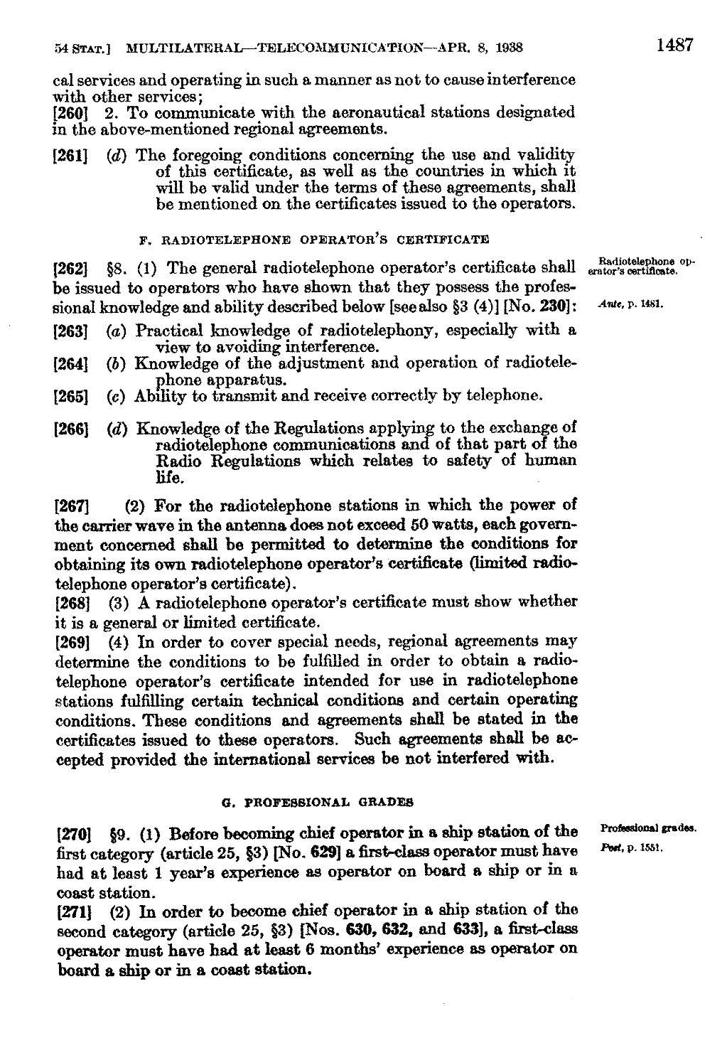 Part P Certificate >> Page United States Statutes At Large Volume 54 Part 2 Djvu