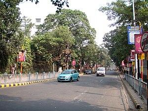 Upendranath Brahmachari - Dr. U. N. Brahmachari street renamed from Loudon street, beside Minto park, Kolkata.