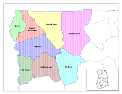 Districts of Upper West region, Dagbon