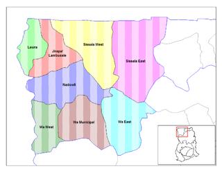 Jirapa/Lambussie District Former District in Upper West Region