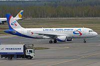 VP-BMT - A320 - Ural Airlines