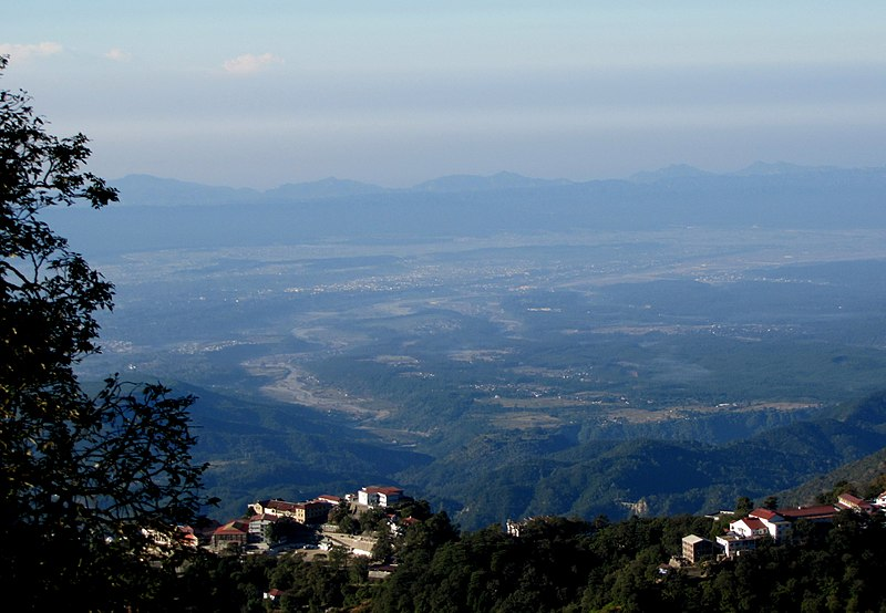 File:Uttarakhand, Dehradun Valley from Landour, India 2010.jpg