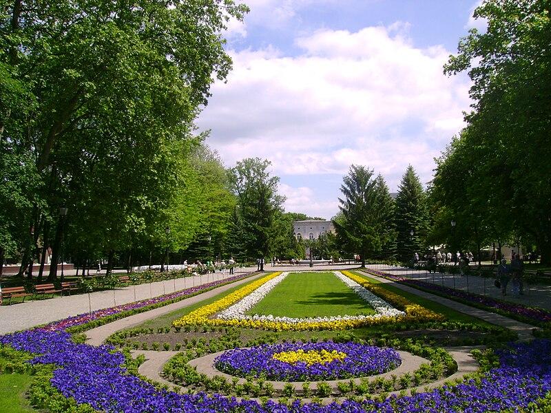 Plik:Uzdrowisko Inowrocław - Dywany kwiatowe.JPG