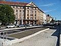 Vítězné náměstí, Svatovítská, rekonstrukce trati.jpg