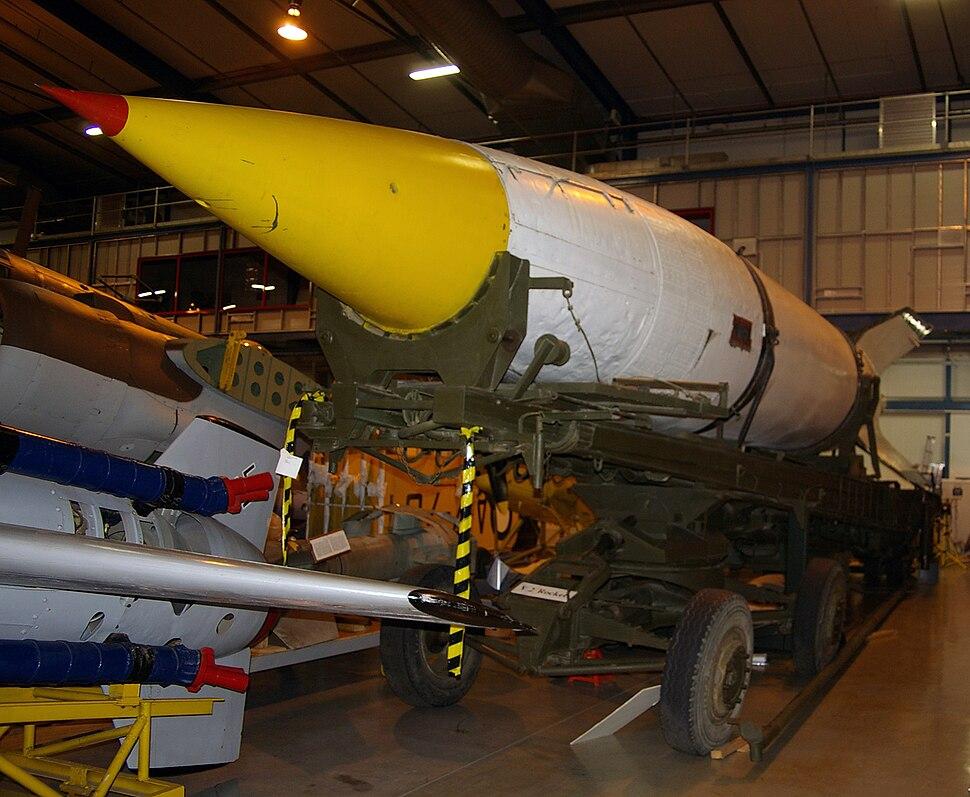 V-2 rocket at the AWM Treloar Centre Annex