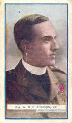 William Addison (VC) - Image: VC William Robert Fountains Addison