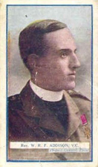 William Addison (VC) - Image: VC William Robert Fountains Addison