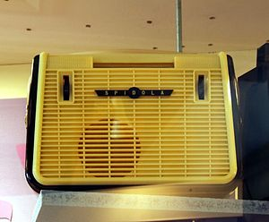 VEF - Famous 1960 Spīdola, Soviet first portable short wave receiver