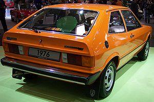 Volkswagen Scirocco - Rear view of a pre-facelift model