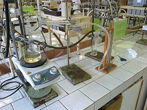 Vacuum distillation - Image: Vaccum distillation