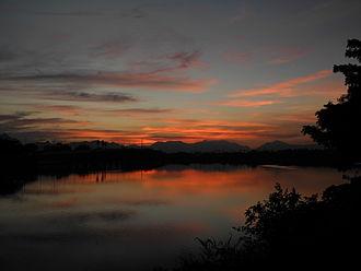 Ukkadam-Valankulam Lake - Image: Valankulam Lake at Sunset