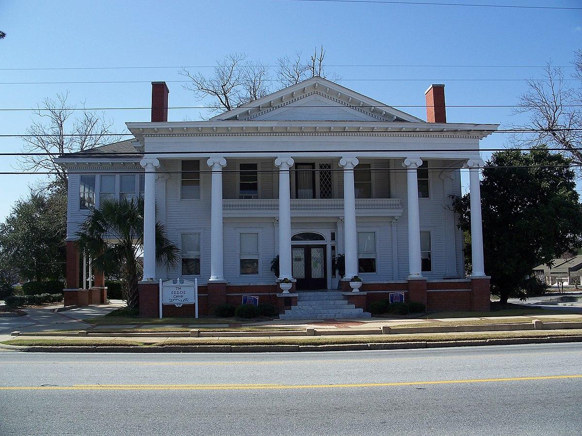 Barber pittman house wikipedia for Home builders valdosta ga
