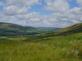 Edale - Image: Vale of Edale 001