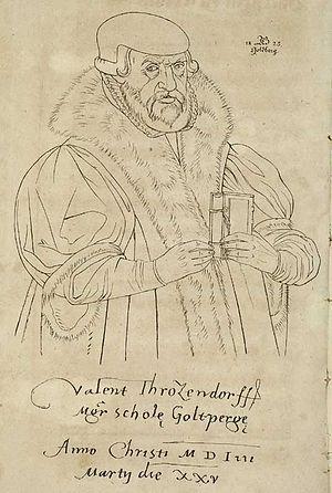 Valentin Friedland - Valentin Trozendorf by Gustav Pinzger 1825