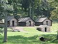 Valley Forge National Historical Park, Log Cabins.JPG