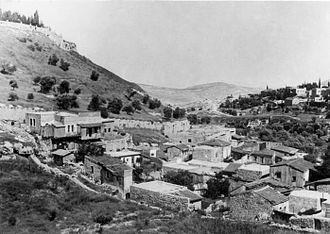 Gehenna - Valley of Hinnom 1948
