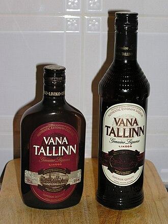 Vana Tallinn - Image: Vana Tallinn Bottles