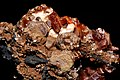 Vanadinite, hollandite, calcite.jpg