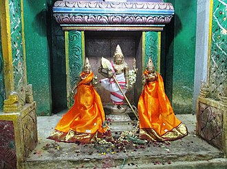 Vayalur Murugan Temple - Festival image of the temple