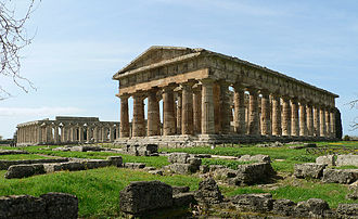 Paestum - Paestum contains three of the most well-preserved ancient Greek temples in the world; two Hera Temples shown above