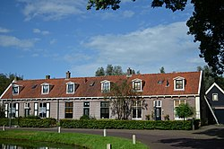 Monumental rowhouses in Veenhuizen
