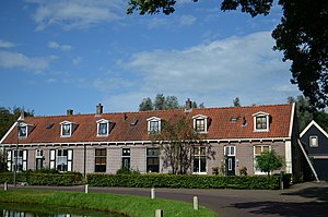 Noordenveld - Monumental rowhouses in Veenhuizen