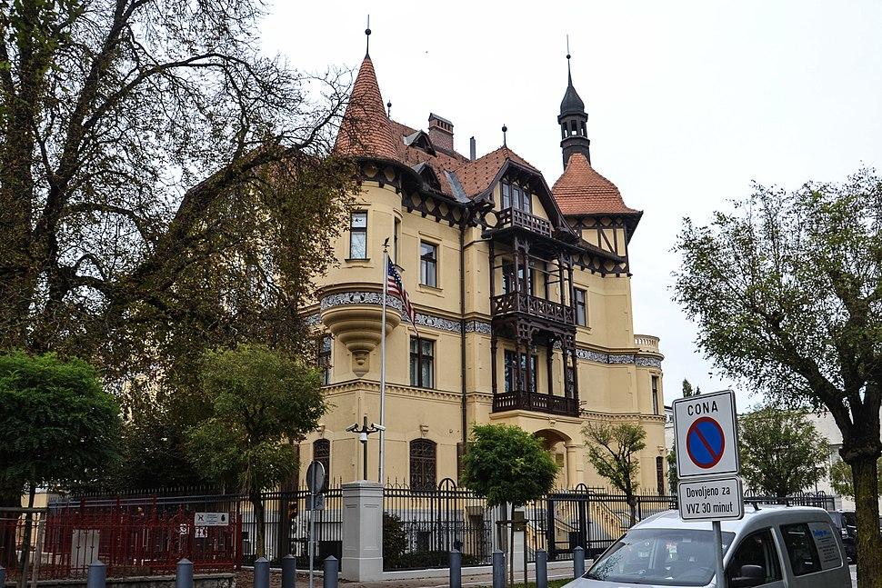 Veleposlanistvo ZDA v Ljubljani Embassy of USA in Ljubljana Slovenia