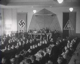 Bestand:Verbroederingsbijeenkomst der NSB en NSDAP - Spiegel der beweging nr. 15, item 6 52310.webm