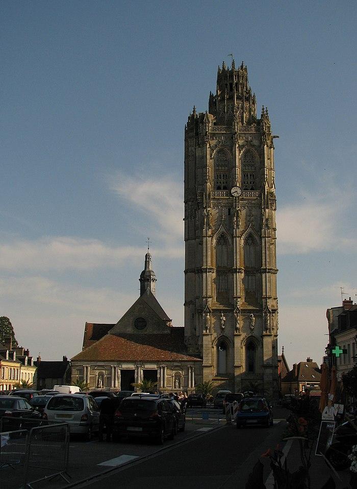 Eglise de la madeleine monument historique verneuil sur avre myopenweek - Monument la madeleine ...