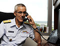 Vice commandant Coast Guard Day phone calls 140804-G-KJ067-029.jpg