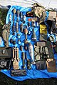 Victory Show Cosby UK 06-09-2015 WW2 Trade stalls Misc. militaria personal gear replicas reprod. orig. zaphad1 Flickr CCBY2.0 US uniform webbing belt grenades ammo bags vanapium etc IMG 3848.jpg