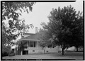 View from southwest. - Pierre Menard House, County Highway 6, Fort Gage, Randolph County, IL HABS ILL,79-FORGA,1-3.tif