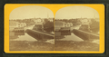View of a bridge over a river, town in background, from Robert N. Dennis collection of stereoscopic views.png