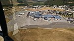 View of planes at Queenstown Airport from ZK-IDN 02.jpg