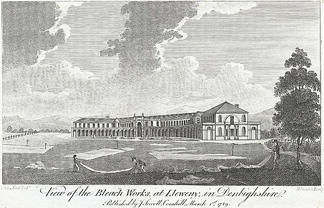 View of the bleach works, at Lleweny, in Denbighshire.jpeg