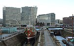 View to Liverpool One along Canning Graving Docks.jpg