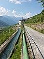 Villa di Tirano-Via dei Terrazzamenti seen from Tirano-View from Xenodochio di Santa Perpetua-02ASD.jpg
