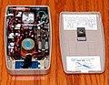 Vintage Zephyr Transistor Radio (Inside View), Model ZR-930, AM Band, 9 Transistors, Reverse Paint, Made In Japan (46704650234).jpg