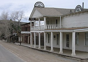 Montana in the American Civil War - Image: Virginia City Ghost Town