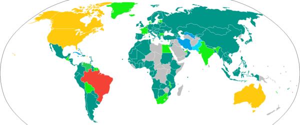 Visa policy of Brazil - Wikipedia