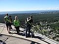 Visitors on Edge Walk - Tallinn TV Tower - Tallinn - Estonia (35917778062).jpg