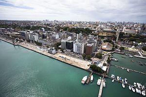 Comércio (Salvador) - Aerial view of Comércio